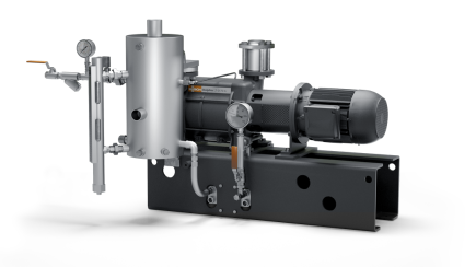 Dolphin VL – standard vacuum pump units. Available in continuous flow, partial or total recirculation.