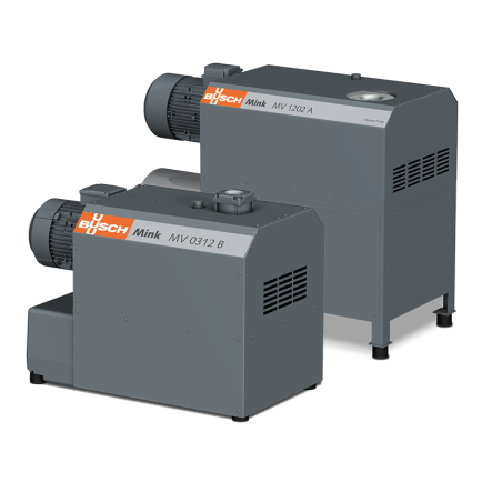 Mink MV Aqua – quiet, efficient and reliable vacuum generation for wet applications.