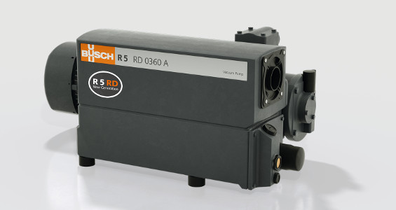 The new rotary vane vacuum pump R 5 RD 0360 A from Busch Vacuum Pumps and Systems