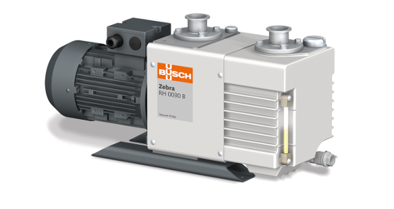 Fig. 1: The Zebra RH 0030 B rotary vane vacuum pump is one of a total of eight sizes in the new Busch series