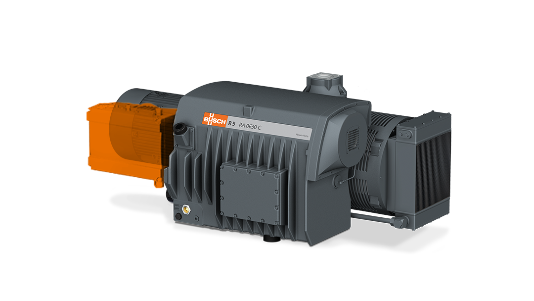 Busch Retrofit Kit – the performance and efficiency boost for R 5 RA 0630 rotary vane vacuum pumps.