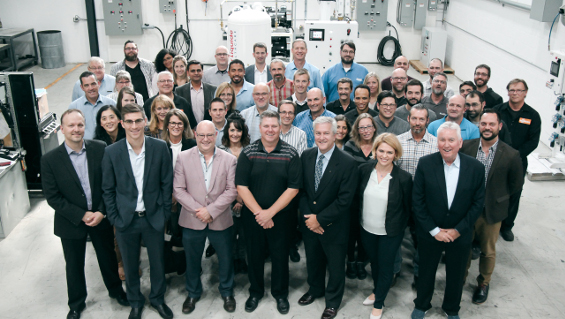 Time to celebrate: Busch Canada has delivered its 1,000th medical vacuum and air system. Source: Busch Dienste GmbH