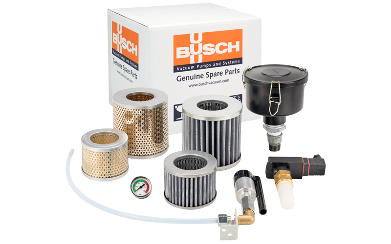 Busch Genuine Service Kits ensure optimum performance and the validity of your warranty.
