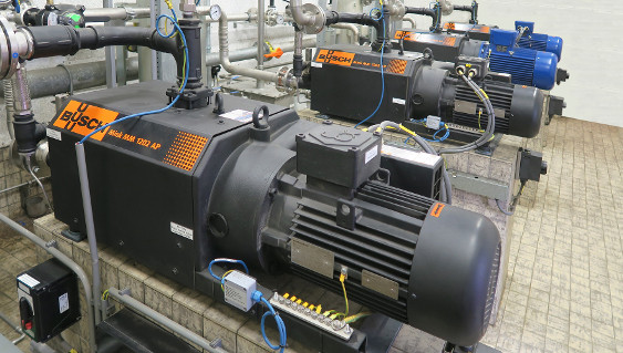 Efficient biogas production claw compressors from Busch