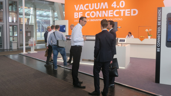 Busch dedicated its appearance at this year's ComVac entirely to Industry 4.0 Photo: Busch Dienste GmbH
