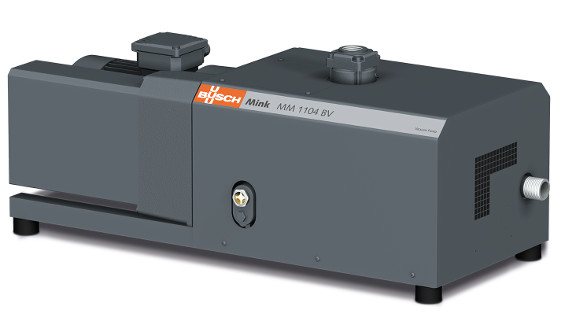 Fig 1: Busch's Mink claw vacuum pumps are Bada's standard vacuum generators for material feeding and degassing the melt in the extruders. Source: Busch Dienste GmbH